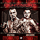 Fight Night v3 Flyer Template