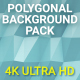 Polygonal Background Pack 4K