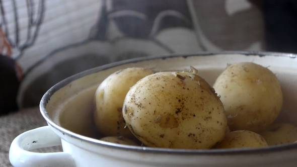 Download Hot Boiled Potatoes In Their Skins nulled download