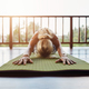 Download Fitness female performing yoga from PhotoDune
