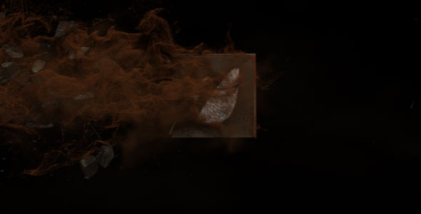 VideoHive Blown Out Logo Reveal II 1700428