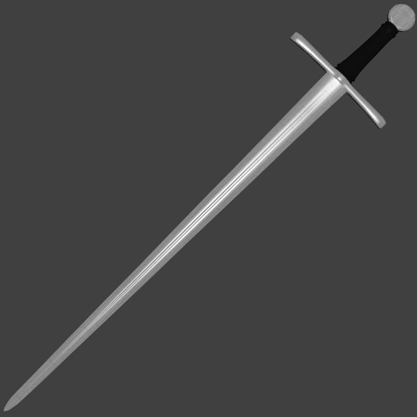 Short Sword - Game Ready  - 3DOcean Item for Sale