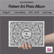 Pattern Art Photo Album