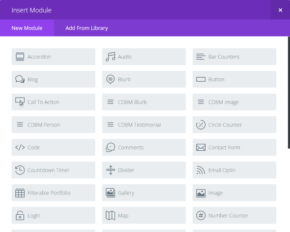 Custom Divi Builder Modules (Image size selection)