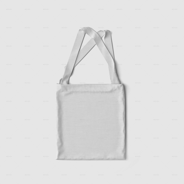 Tote bag template illustrator - Fabric Bag Mockup