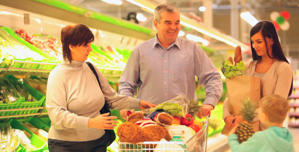 VideoHive Family Doing Shopping 1732015