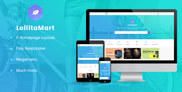 Image of Leo Lollita Responsive Prestashop Theme