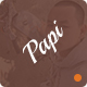 Papi App PSD Templates