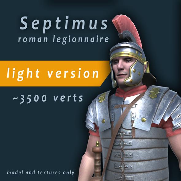 Septimus roman legionnire light - 3DOcean Item for Sale