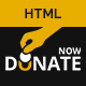 Fundraising - HTML template for charity and donation websites