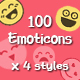 100 Emoticons Icons