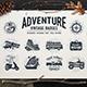 Adventure Vintage Badges (part 1)