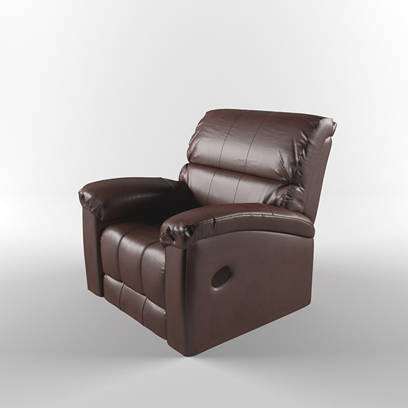 A leather chair - 3DOcean Item for Sale