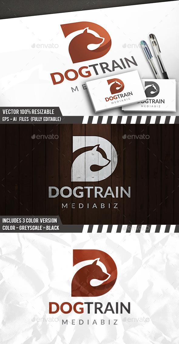 Dog D Letter Logo