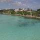 Mexico Crystal Clear Ocean Fly Over 006
