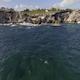 Mexico Crystal Clear Ocean Fly Over 008