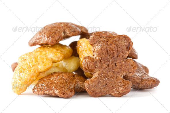 Pile Of Breakfast Cereals - Stock Photo - Images