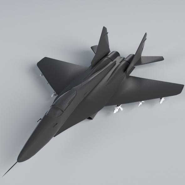 MiG-29 Fulcrum - 3DOcean Item for Sale