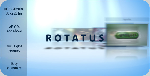 After Effects Project - VideoHive Rotatus 1732910
