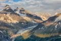 Argentiere Glacier view, Mont Blanc Massif, France