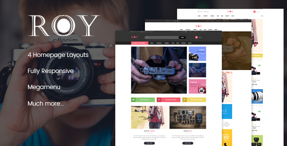 Image of Leo Roy Responsive Prestashop Theme
