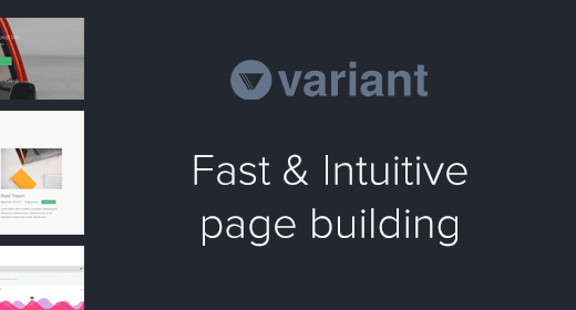 Variant Page Builder Templates by Medium Rare