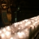 Candles Burning In a Row