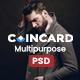 CoinCard - Creative Multipurpose PSD Template