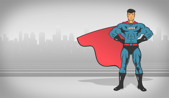 VideoHive Super Hero Template 17423909