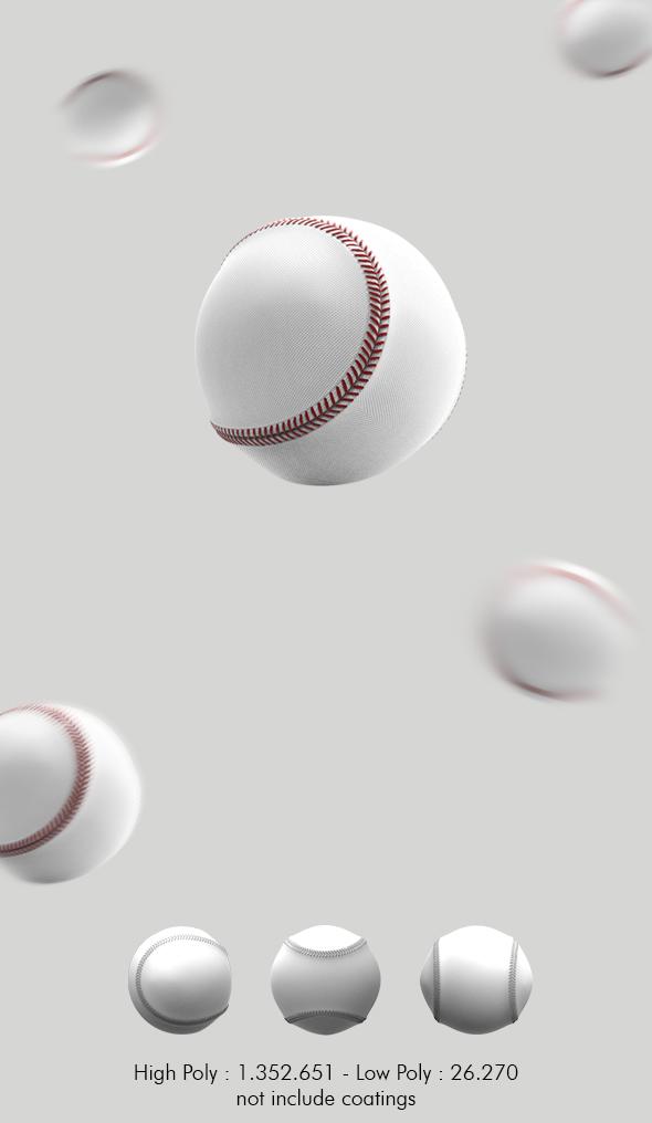 baseball - 3DOcean Item for Sale