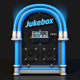 ROCK JUKEBOX METAL LEATHER FLUO