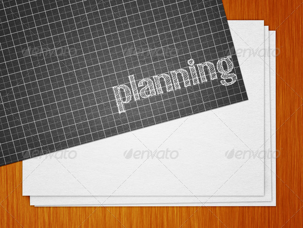 Planning - Stock Photo - Images