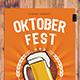Oktober Fest Party Flyer