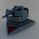 scifi turret gun 2