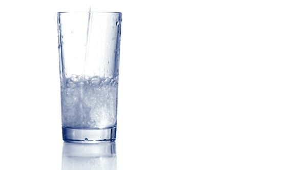 Download Pouring Water in Empty Glass nulled download