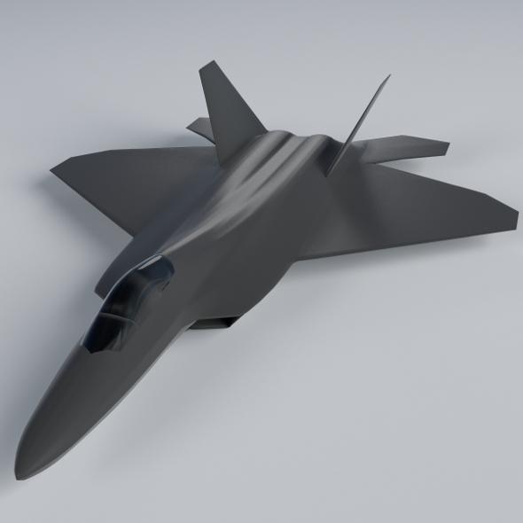 F-22 Raptor - 3DOcean Item for Sale