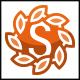 Sun S Letter Logo