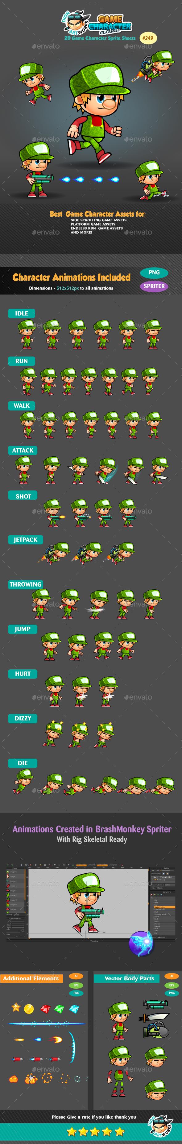 2D Game Character Sprites 249 (Sprites)