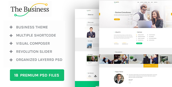 The Business – WP Business & Corporate Theme (Business) Download