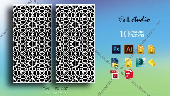 3DOcean Twinkles 3D screen PD A07 17429464