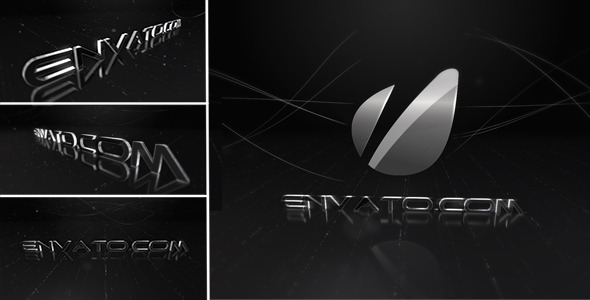 VideoHive Black Logo & Text Pack 1705737