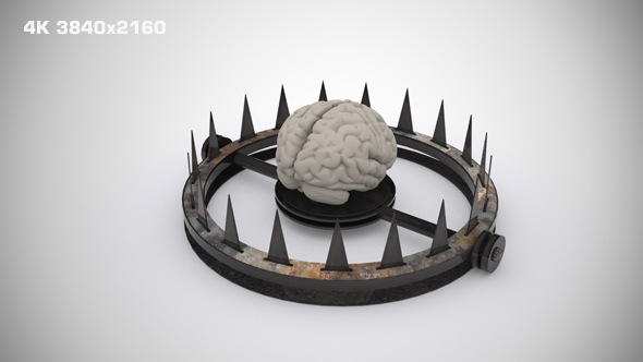VideoHive Trapped Mind Background 17429948