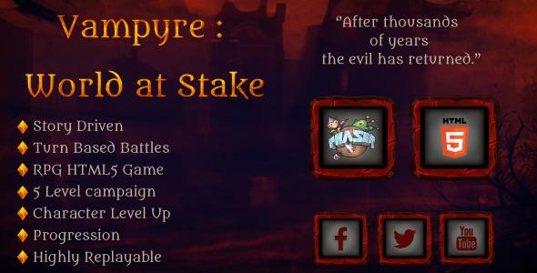 CodeCanyon Vampyre World at stake 17407880