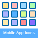 20 Mobile App Icons