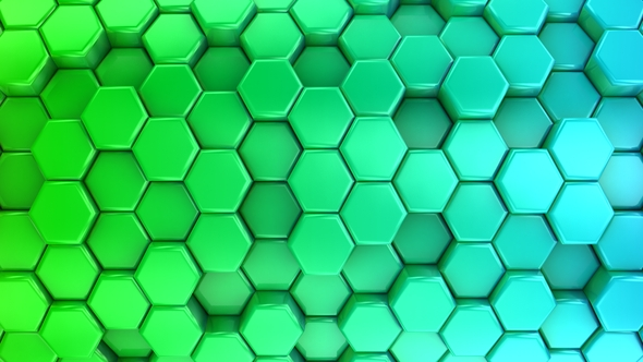 VideoHive Animated Colored Honeycombs 17430726