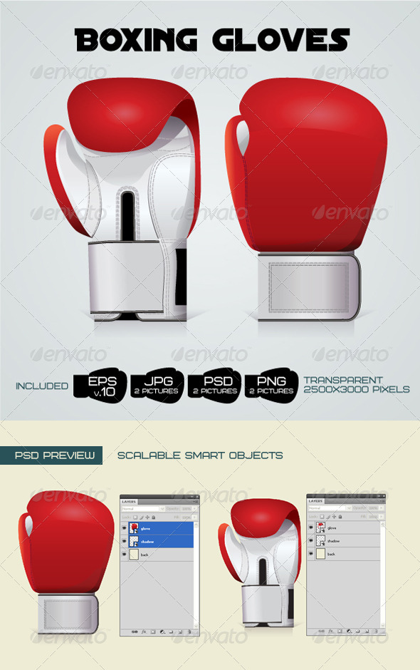 GraphicRiver Boxing Gloves 1734469