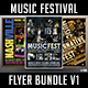 Music Festival Flyer Bundle V1