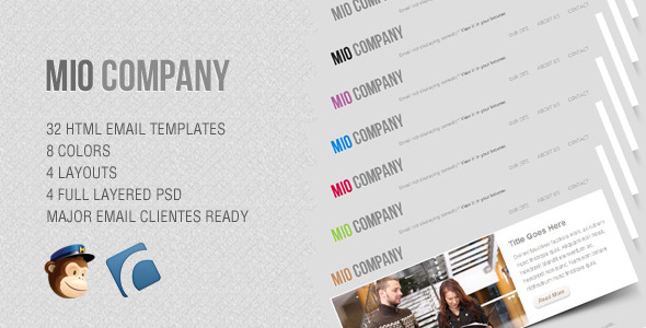 Mio - Corporate Email Template
