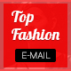 TopFashion-Multipurpose Email Template + Stampready builder