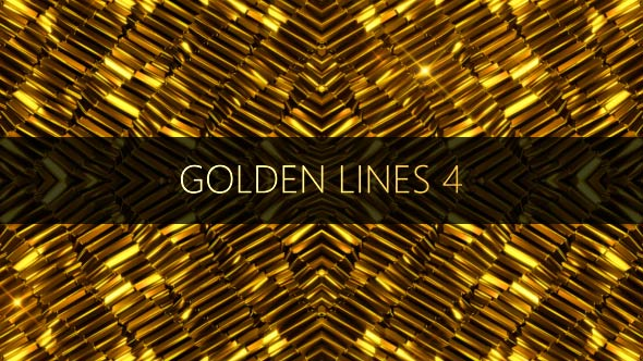 VideoHive Golden Lines 4 17441438